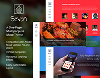Sevon - One Page Muse Theme