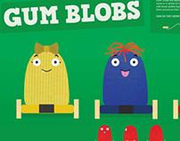 Gum Blobs