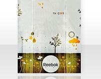 Reebok Italia Sales Tool: Q309 and Q409.
