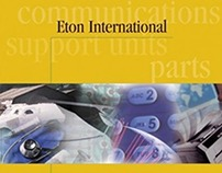 Eton International Logo & Capabilities Brochure