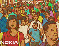 """Anna, I'm Comin Home"" for Nokia. JWT, 2014."