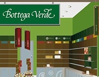 In Store Restyling for Bottega Verde.
