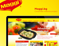 MAGGI Corporate Website Project