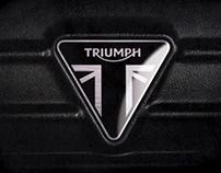 Triumph Motorbikes branding