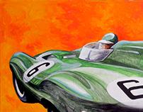 1955 Le Mans Jaguar Winner