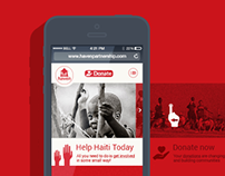 Mobile first design for NGO