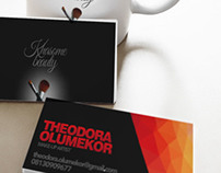 Business Card Design for Khasome