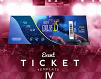 Event Ticket Templates IV