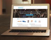 Kreativfilm.tv - Webdesign