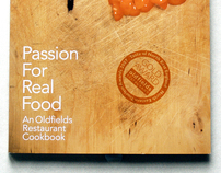 Passion For Real Food Cookbook.