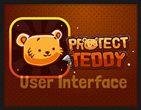 Protect Teddy Mobile Game UI