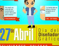 Graphic Designer Day (4/27/2014) Poster