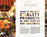 Eataly Editorial Design