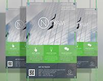 Corporate Flyer Template & Design