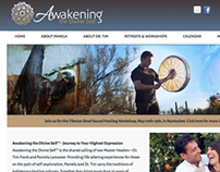 Awakening the Divine Self website design