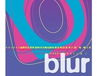 BLUR - Typeface Poster // Afiche Tipográfico