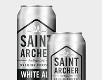 Saint Archer Brewery Cans