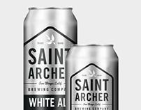 Saint Archer Brewery Cans