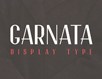 Garnata Display Typography