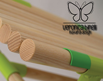 """Veronica Binelli - natural design"" LOGO"