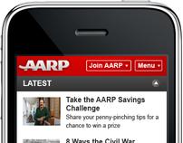 AARP Mobile Website