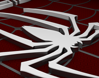 Spiderman 3D Logo
