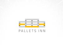 Pallets Inn logo concepts