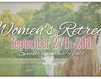 Women's Retreat poster