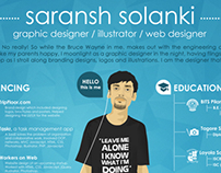 My own Graphic Resume