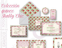 Shabby chic collection stationary