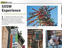 SXSW Experience Photo Page Layout