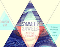 Symmetry : Intuitive Experimental flyer