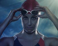 Swimmer / Nike Swimsuit