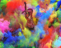 Color & Dust - Holi 2014 in India
