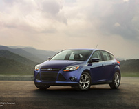 Commercial Automotive Photography: Ford Focus