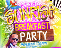 Sunrise Breakfast Party/ Promotional Items