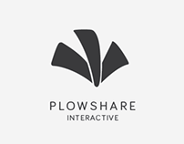 Plowshare Interactive Logo & Word Mark