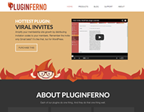 Pluginferno.com Branding and Illustration