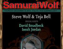 Samurai Wolf Rock Posters: 2014