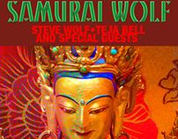 Samurai Wolf Rock Posters: 2013