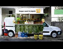 KANGOO STREET VENDORS Renault Mexico