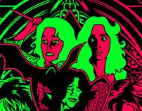 "Suspiria ""WITCH"" Poster Illustration"