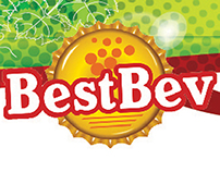 BestBev Liquor; Cooler wall graphic