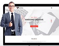 Agency Web Template Design