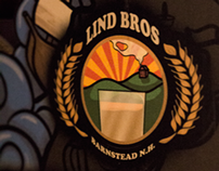 Lind Bros. Brewing: Black Flag Double IPA Packaging