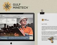 Gulf Minetech | Web & ID Design