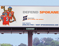 Spokane Shock Marketing Campaign 2014 Season