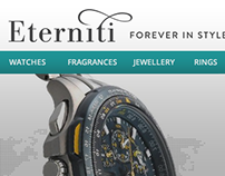 Eterniti E-commerce Website