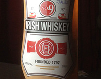 Downes No. 9 Whiskey Label