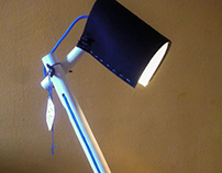 V Lamp - made as a gift